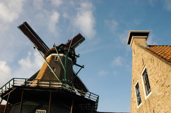Houtzaagmolen de Rat in IJlst - FrieslandStock