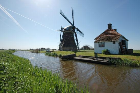 Babuurster molen van Tjerkwerd - FrieslandStock