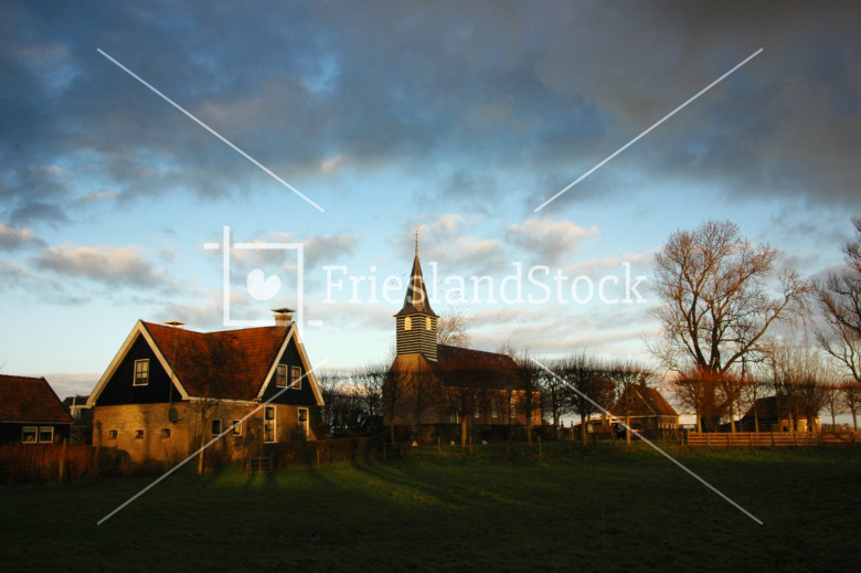 Sandfirden in avondlicht - FrieslandStock