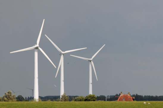 Dijkzicht bij Cornwerd - FrieslandStock