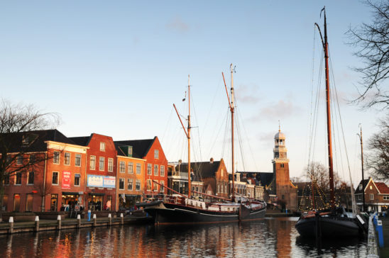 Lemmer in winter - FrieslandStock