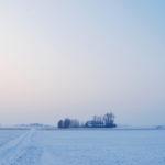 Boerderij in winterse setting - FrieslandStock