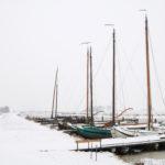 Skûtsjes in winter - FrieslandStock