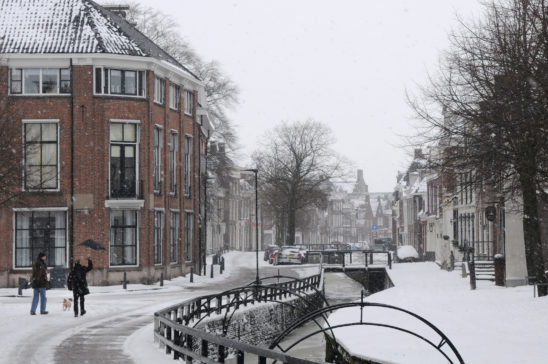 Bolsward in winter - FrieslandStock