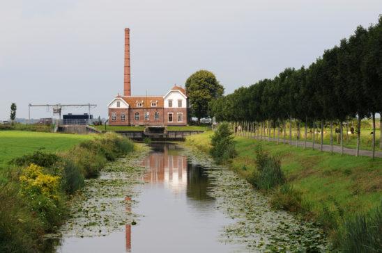 Gemaal bij Echten - FrieslandStock