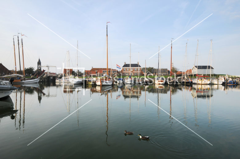 Haven van Hindeloopen - FrieslandStock