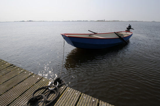 Roeiboot op De Grons - FrieslandStock