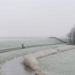Wandelaars nabij Gaast - FrieslandStock
