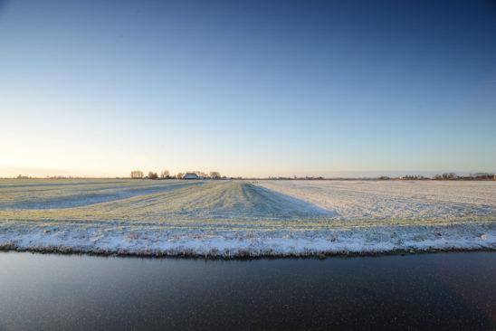 Winters landschap bij Oosthem - FrieslandStock
