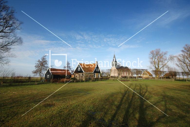 Het dorpje Sandfirden - FrieslandStock