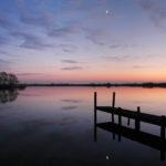 Skûtelpoel in avond - FrieslandStock