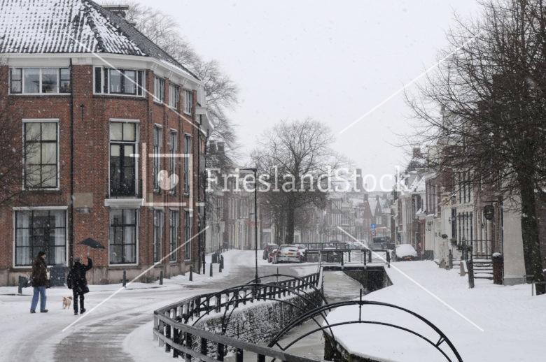 Bolsward in winter - FrieslandStock