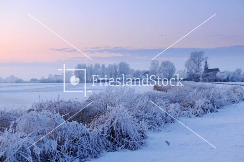 Sandfirden in winter - FrieslandStock