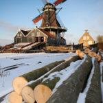 Houtzaagmolen De Rat - FrieslandStock