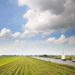 Boten varen naar Heeg via Jeltesloot - FrieslandStock