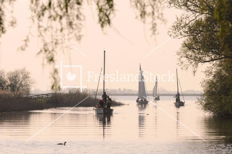 Zeilboten bij Gaastmeer